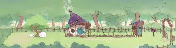 emilia's house exterior