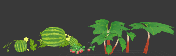 summer garden models